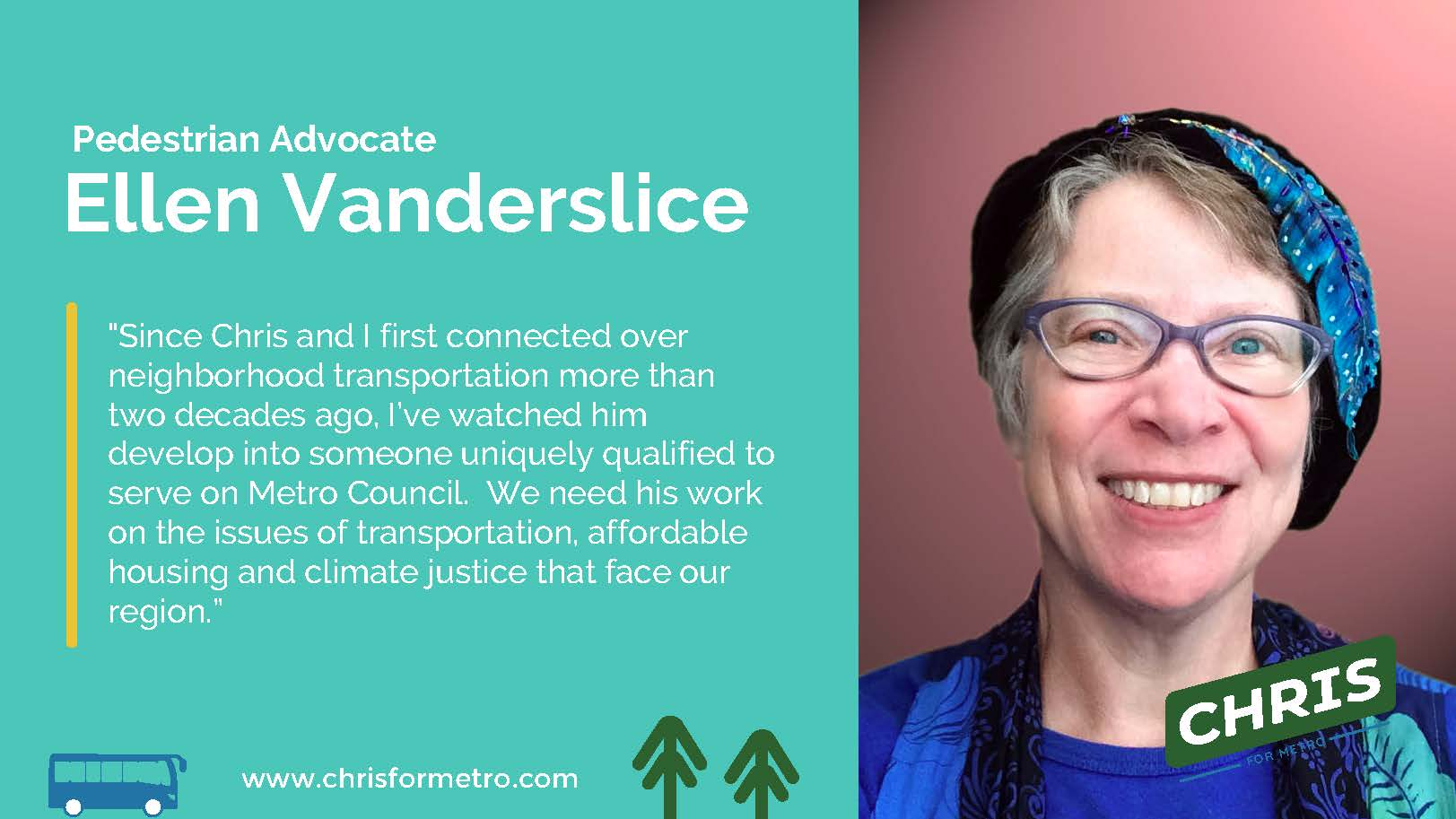 Ellen Vanderslice Endorsement